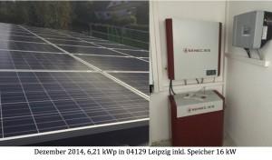 Photovoltaikanlage 04129 Leipzig inkl. Speicher Senec.Home G2 plus 16 kW