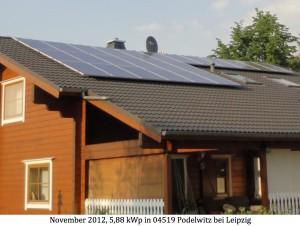 Photovoltaikanlage 04519 Podelwitz