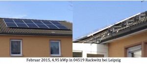Photovoltaikanlage 04519 Rackwitz bei Leipzig