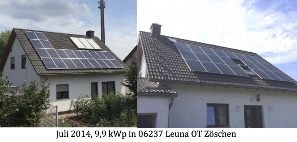 PV-Anlage 06237 Leuna OT Zöschen