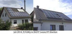 Photovoltaikanlage 06237 Leuna OT Zöschen