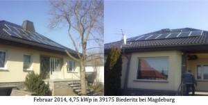 Photovoltaikanlage 39175 Biederitz bei Magdeburg