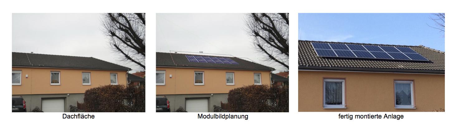 Solaranlagenplanung Photovoltaik Bsp1